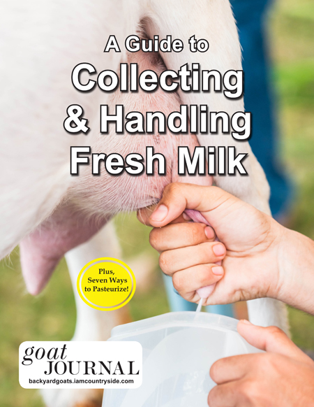 A Guide to Collecting and Handling Milk
