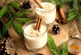 A Delicious Cooked, Nonalcoholic Eggnog Recipe