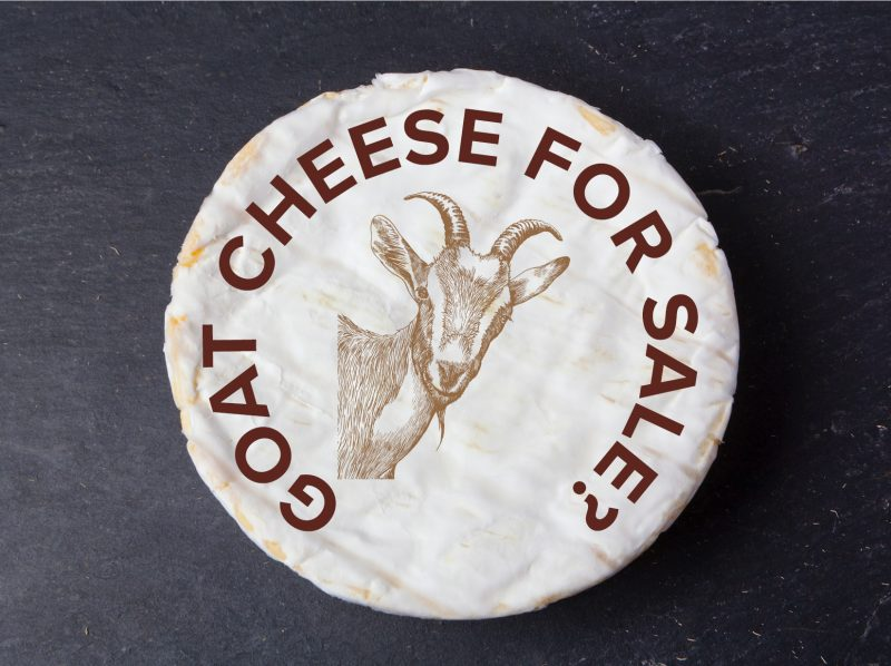 Want to Offer Goat Cheese For Sale?