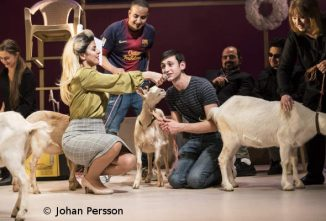 goat-cast-rehearsing-play