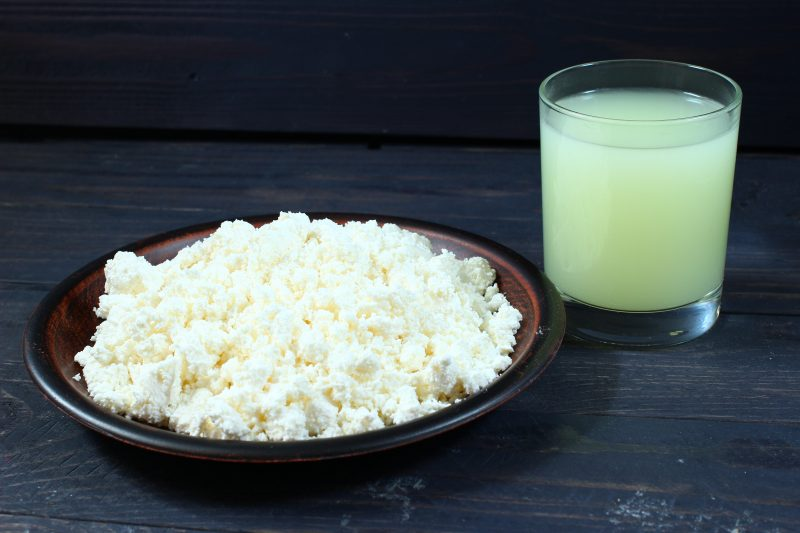 A Breakdown of Proteins in Curd vs. Whey
