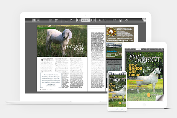 Backyard Goats Digital Subscription