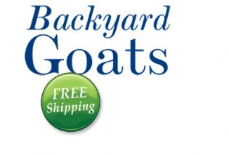 Backyard Goats FREE Shipping