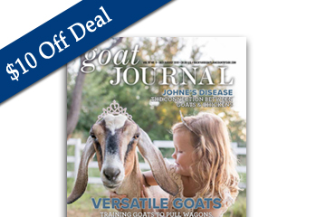$10 off Deal — Goat Journal Print Subscription